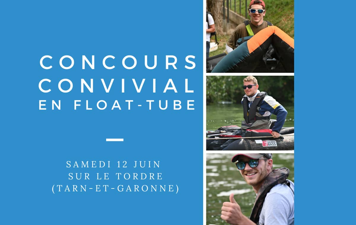 Affiche du concours float-tube