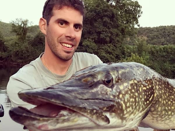 Guide de pêche Sylvain Garza