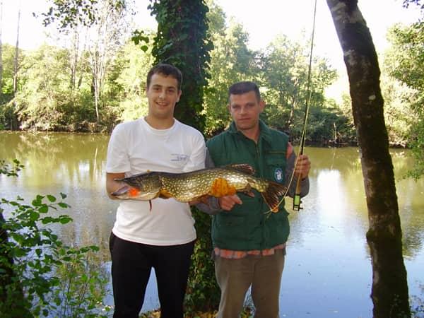 Guide de pêche Xavier Abeya