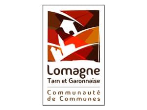 Logo de la communauté de communes de Lomagne tarn-et-garonnaise