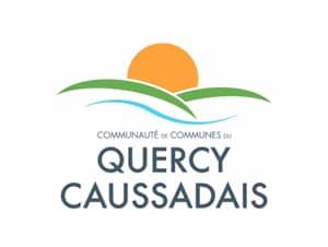 Logo de la communauté de communes quercy caussadais