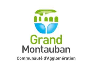 Logo de la communauté d'agglomération du grand montaban