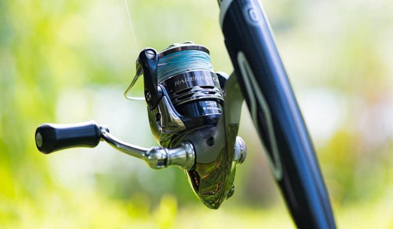 Moulinet de pêche